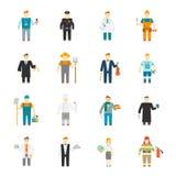 Εικονίδιο χαρακτήρα επίπεδο Στοκ φωτογραφίες με δικαίωμα ελεύθερης χρήσης