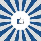 Εικονίδιο χειρονομίας χεριών ελεύθερη απεικόνιση δικαιώματος