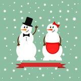 Εικονίδιο χιονανθρώπων Στοκ εικόνα με δικαίωμα ελεύθερης χρήσης