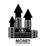 Εικονίδιο χρημάτων Στοκ εικόνες με δικαίωμα ελεύθερης χρήσης