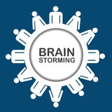 Εικονίδιο 'brainstorming' Στοκ φωτογραφία με δικαίωμα ελεύθερης χρήσης
