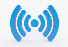 Εικονίδιο WiFi - symbo Στοκ φωτογραφίες με δικαίωμα ελεύθερης χρήσης