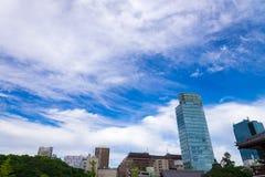 Εικονικές παραστάσεις πόλης του Τόκιο κτίριο γραφείων και στο κέντρο της πόλης του Τόκιο σε mi Στοκ φωτογραφίες με δικαίωμα ελεύθερης χρήσης