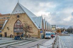 Εικονική αγορά θαλασσινών στο Γκέτεμπουργκ, Σουηδία Στοκ Φωτογραφίες