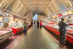 Εικονική αγορά θαλασσινών στο Γκέτεμπουργκ, Σουηδία Στοκ Φωτογραφία