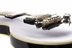 Εικονική κιθάρα βράχου στοκ εικόνα με δικαίωμα ελεύθερης χρήσης
