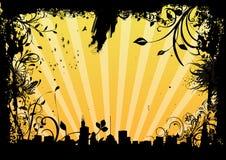 εικονική παράσταση πόλης βρώμικη απεικόνιση αποθεμάτων