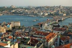 εικονική παράσταση πόλης Κωνσταντινούπολη Στοκ Εικόνες