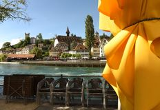 Εικονική παράσταση πόλης Λουκέρνης, Ελβετία Στοκ εικόνα με δικαίωμα ελεύθερης χρήσης