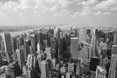 εικονική παράσταση πόλης Μανχάτταν Νέα Υόρκη Στοκ Φωτογραφία