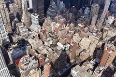 εικονική παράσταση πόλης Μανχάτταν Νέα Υόρκη στοκ εικόνες