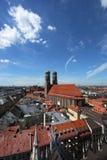 εικονική παράσταση πόλης Μόναχο στοκ εικόνα