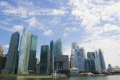 Εικονική παράσταση πόλης Σινγκαπούρης Στοκ εικόνα με δικαίωμα ελεύθερης χρήσης