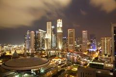 Εικονική παράσταση πόλης Σινγκαπούρη Στοκ εικόνα με δικαίωμα ελεύθερης χρήσης