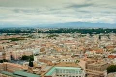 Εικονική παράσταση πόλης στη Ρώμη Στοκ φωτογραφία με δικαίωμα ελεύθερης χρήσης