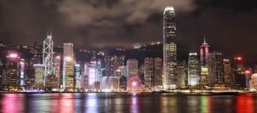 Εικονική παράσταση πόλης στο Χογκ Κογκ στοκ φωτογραφία με δικαίωμα ελεύθερης χρήσης