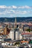 Εικονική παράσταση πόλης της Βιέννης Στοκ Εικόνες