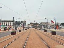 Εικονική παράσταση πόλης της Καζαμπλάνκα, Μαρόκο Στοκ φωτογραφία με δικαίωμα ελεύθερης χρήσης