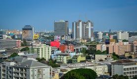 Εικονική παράσταση πόλης της Μπανγκόκ, Ταϊλάνδη Στοκ Εικόνες