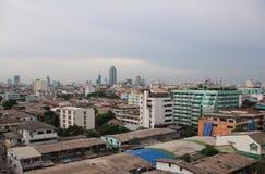 Εικονική παράσταση πόλης της Μπανγκόκ Ταϊλάνδη Στοκ Φωτογραφία