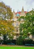 Εικονική παράσταση πόλης της Πράγας, Czechia στοκ φωτογραφίες