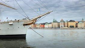 Εικονική παράσταση πόλης της Στοκχόλμης. Στοκ Εικόνες