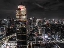 Εικονική παράσταση πόλης της Τζακάρτα στοκ εικόνες
