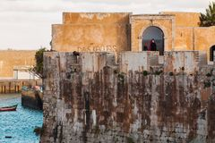 Εικονική παράσταση πόλης της EL Jadida - Μαρόκο Στοκ Εικόνες