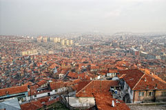 εικονική παράσταση πόλης Τουρκία της Άγκυρας Στοκ Φωτογραφία