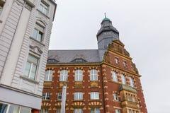 Εικονική παράσταση πόλης του Γκελσενκίρχεν Γερμανία Στοκ Εικόνες