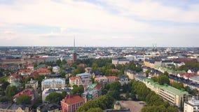 Εικονική παράσταση πόλης του Ελσίνκι απόθεμα βίντεο