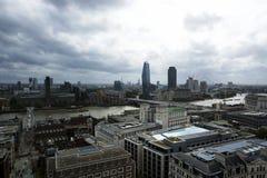 Εικονική παράσταση πόλης του Λονδίνου σε 20 Το Σεπτέμβριο του 2018 Λονδίνο στοκ φωτογραφίες