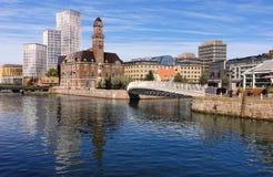 Εικονική παράσταση πόλης του Μάλμοε, Σουηδία Στοκ εικόνες με δικαίωμα ελεύθερης χρήσης