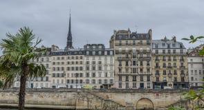 Εικονική παράσταση πόλης του Παρισιού, Γαλλία στοκ εικόνα με δικαίωμα ελεύθερης χρήσης