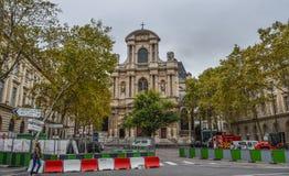 Εικονική παράσταση πόλης του Παρισιού, Γαλλία στοκ εικόνες