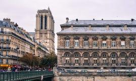 Εικονική παράσταση πόλης του Παρισιού, Γαλλία στοκ φωτογραφία