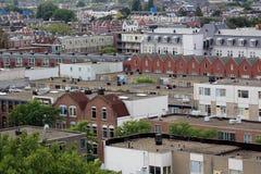 Εικονική παράσταση πόλης του Ρότερνταμ Στοκ Φωτογραφία