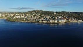 Εικονική παράσταση πόλης του Σαν Ντιέγκο από το oceanside απόθεμα βίντεο