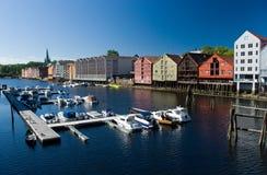εικονική παράσταση πόλης Στοκ φωτογραφία με δικαίωμα ελεύθερης χρήσης