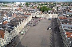 Εικονική παράσταση πόλης Arras, Γαλλία Στοκ Φωτογραφία