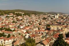 Εικονική παράσταση πόλης Sibenik, Κροατία Στοκ Εικόνα