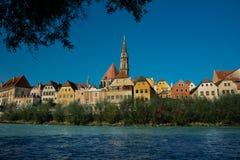 Εικονική παράσταση πόλης Steyr στοκ εικόνες με δικαίωμα ελεύθερης χρήσης