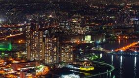 Εικονική παράσταση πόλης Yokohama, Ιαπωνία απόθεμα βίντεο