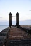 Εικονική παράσταση πόλης από κύριο Arrecife των Κανάριων νησιών Lanzarote, Ισπανία Στοκ εικόνα με δικαίωμα ελεύθερης χρήσης