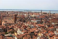 εικονική παράσταση πόλης Βενετία Στοκ Εικόνες