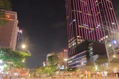 Εικονική παράσταση πόλης Βιετνάμ οδών αγορών πόλεων Χο Τσι Μινχ Στοκ φωτογραφία με δικαίωμα ελεύθερης χρήσης