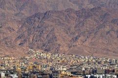 Εικονική παράσταση πόλης Ιορδανία του Άκαμπα Στοκ φωτογραφία με δικαίωμα ελεύθερης χρήσης
