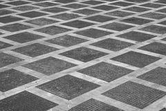 Εικονική παράσταση πόλης με το κενό πάτωμα τούβλου ανασκόπηση αστική Στοκ φωτογραφίες με δικαίωμα ελεύθερης χρήσης