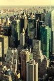 εικονική παράσταση πόλης Νέα Υόρκη Στοκ φωτογραφίες με δικαίωμα ελεύθερης χρήσης