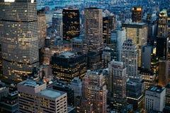 εικονική παράσταση πόλης Νέα Υόρκη Στοκ εικόνα με δικαίωμα ελεύθερης χρήσης